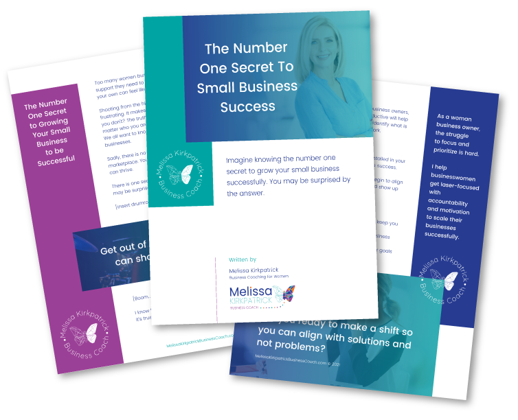 The Number One Secret To Small Business Success